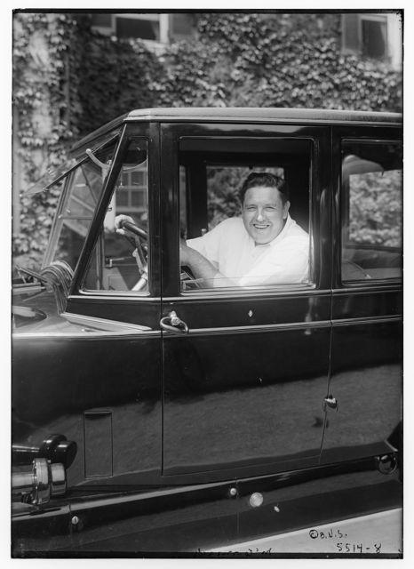 McCormack (in car)