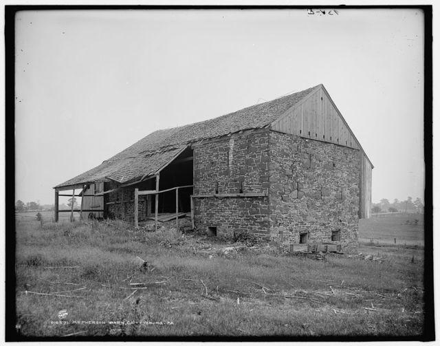 McPherson barn, Gettysburg, Pa.