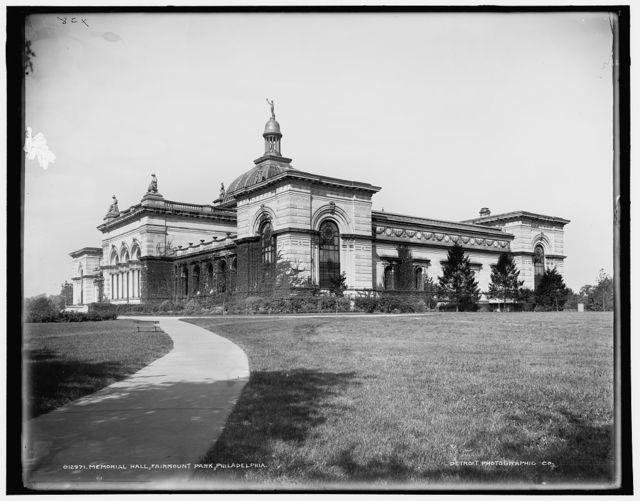 Memorial Hall, Fairmount Park, Philadelphia