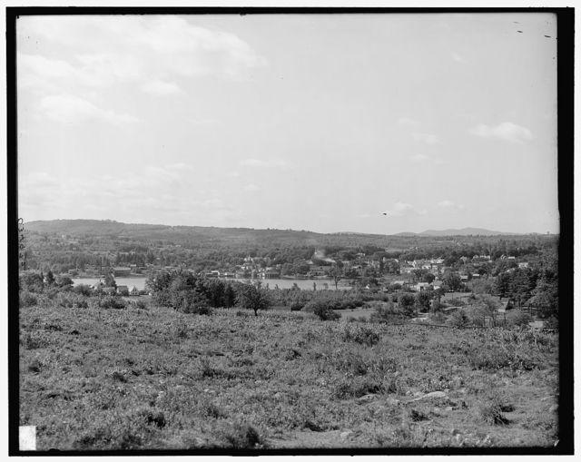 [Meredith village, Lake Winnipesaukee, N.H.]