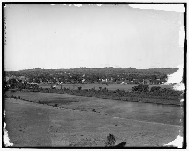 [Merrimack River and town of Concord, N.H.]