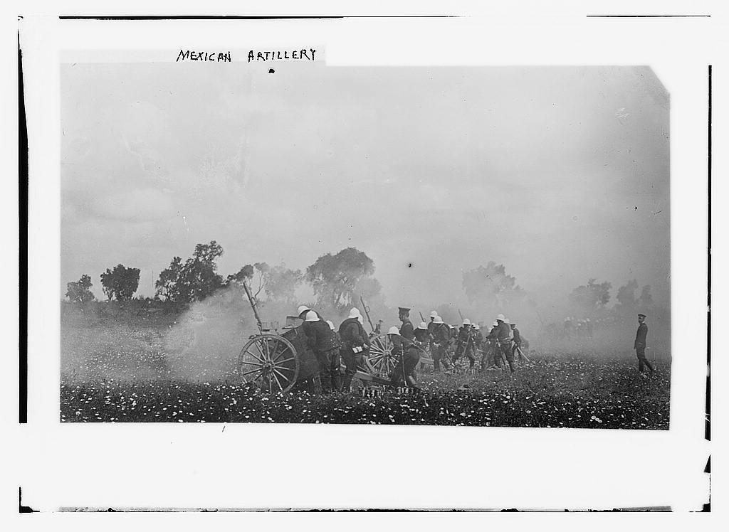 Mexican artillery