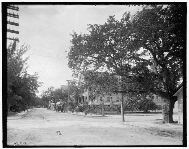 [Miami, Fla., Avenue C and Fort Dallas Hotel]