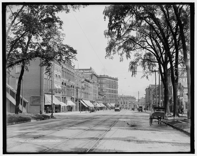 Military Street, Port Huron, Mich.