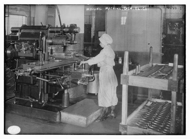 Milling machine, Gen. El. Co.