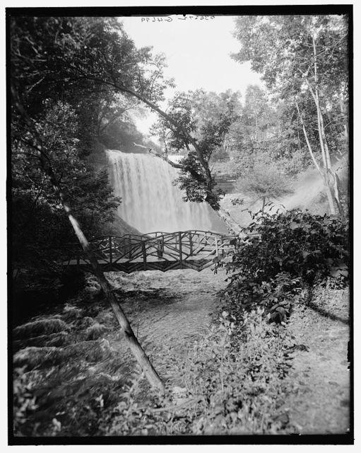 [Minnehaha Falls, Minneapolis, Minn.]