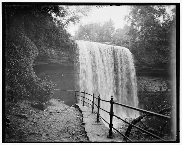 [Minnehaha Falls, Minneapolis, Minnesota]