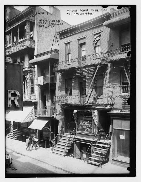 Mission house where Elsie Sigel was murdered