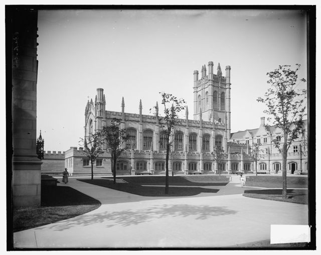 [Mitchell Tower & Hutchinson Hall, University of Chicago, Chicago, Ill.]