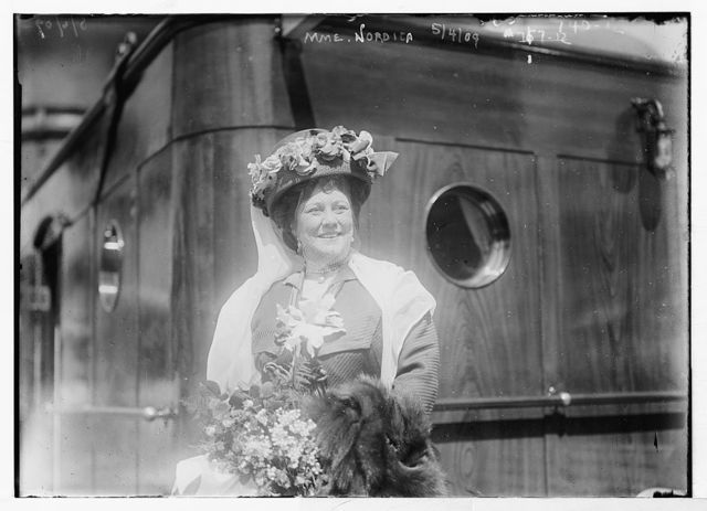 Mme. Nordica, aboard ship