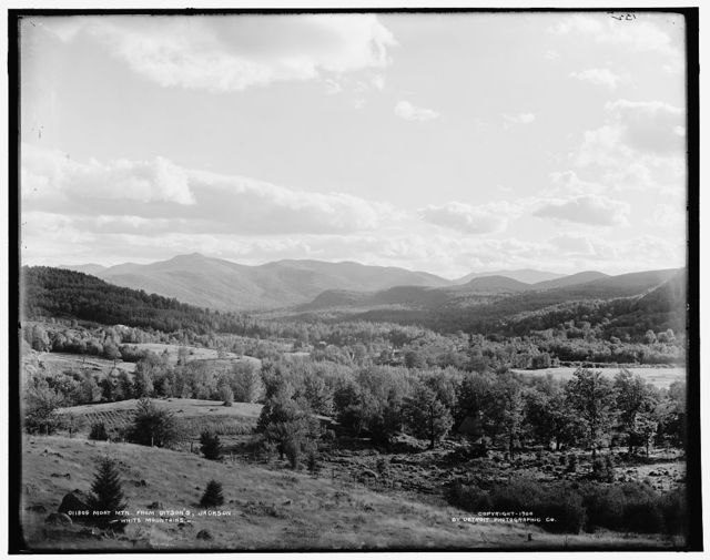 Moat Mtn. from Ditson's, Jackson, White Mountains