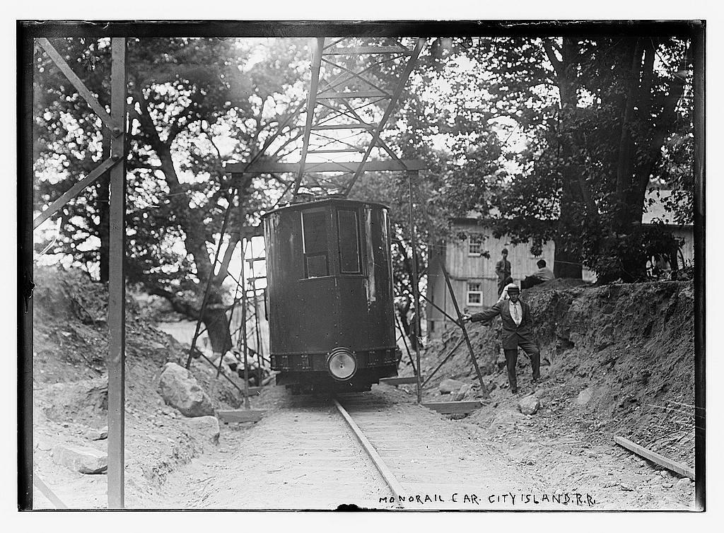 Monorail car City Island R.R.