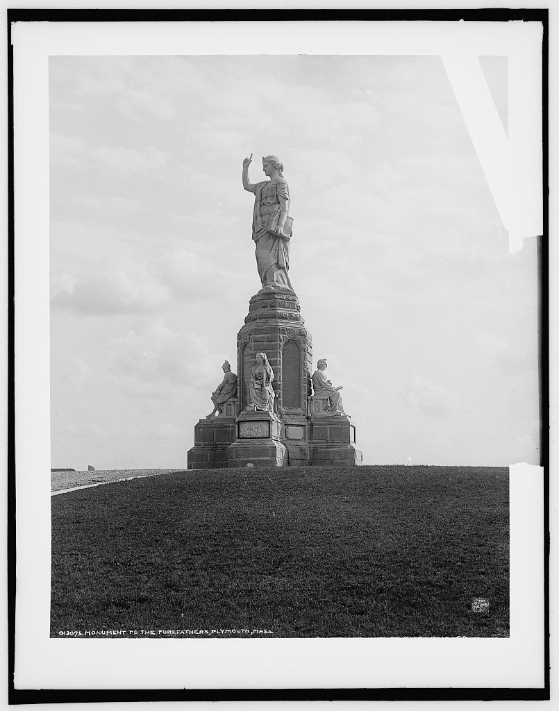 Monument to the Forefathers, Plymouth, Mass.