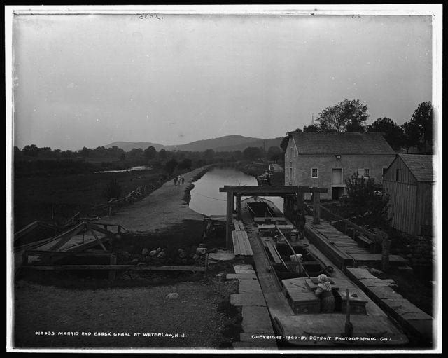 Morris and Essex Canal at Waterloo, N.J.