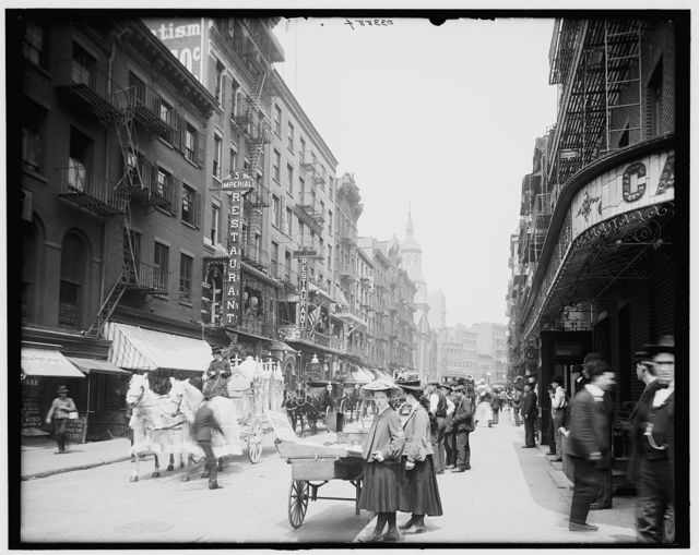 [Mott Street, New York City]