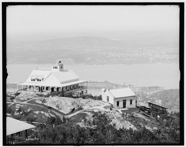 [Mount Beacon Casino and power house, Fishkill-on-the-Hudson, N.Y.]
