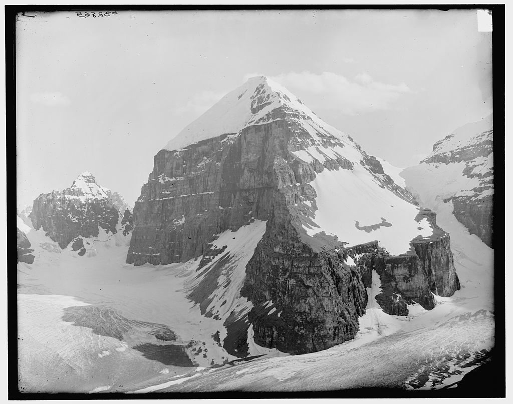 [Mount Lefroy & the Mitre, Alberta, Canada]