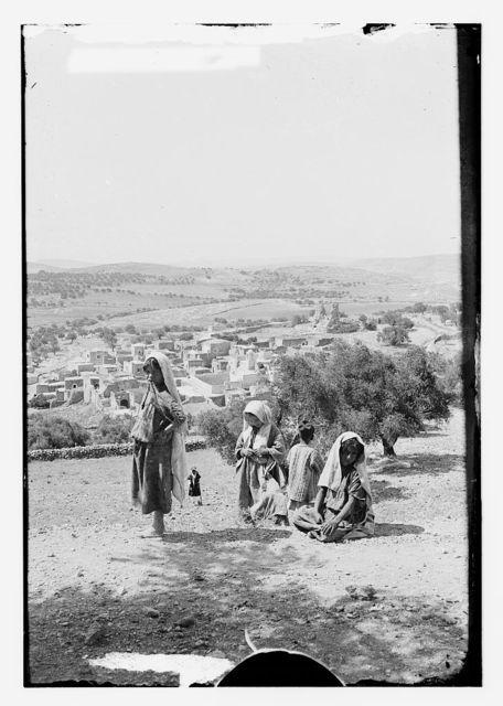 Mount of Olives, Bethany, etc. Bethany from the Slopes of Olivet
