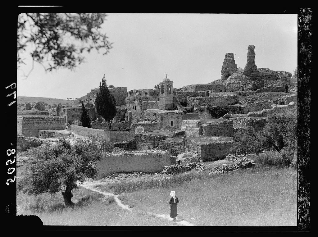 Mount of Olives, Bethany, etc  Tomb of Lazarus - PICRYL