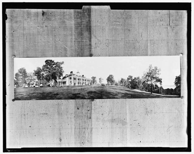 Mount Vernon, Virginia, the home of Washington