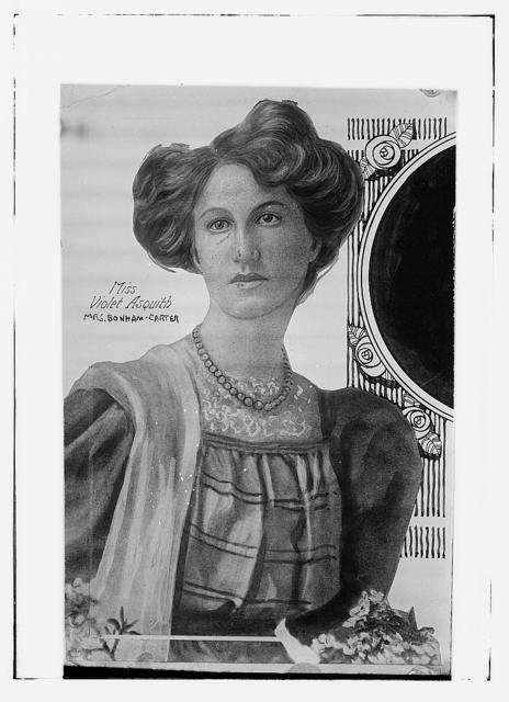 Mrs. Bonham-Carter (Violet Asquith)