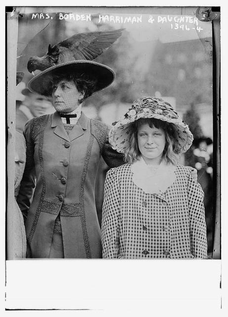 Mrs. Borden Harriman and daughter