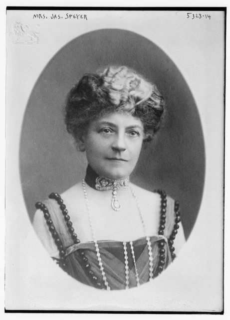 Mrs. Jas. Speyer