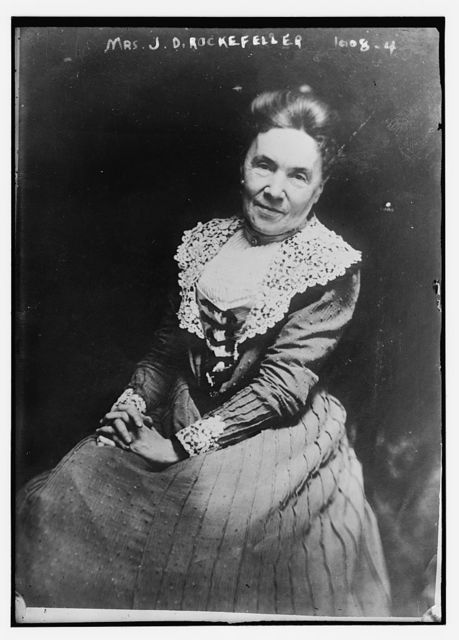 Mrs. J.D. Rockefeller, seated