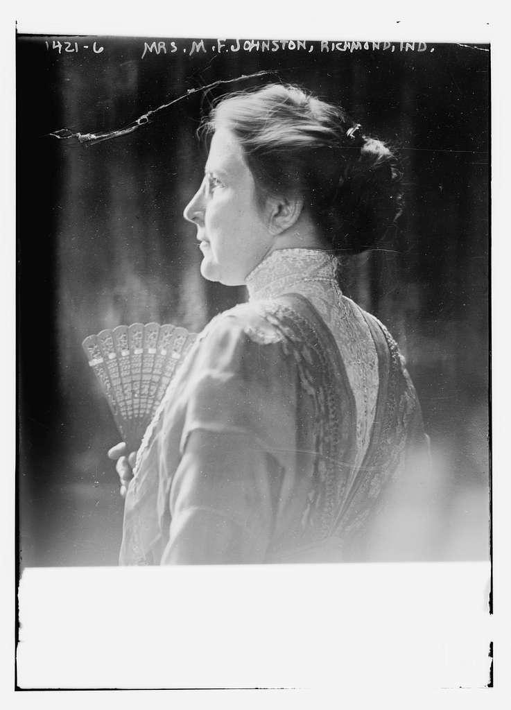 Mrs. M.F. Johnston, Richmond, Ind