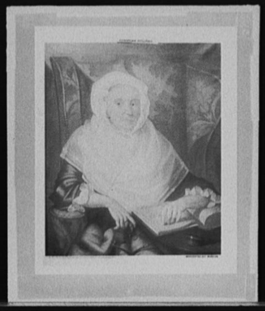 [Mrs. Nicholas Salisbury (Martha Saunders)]