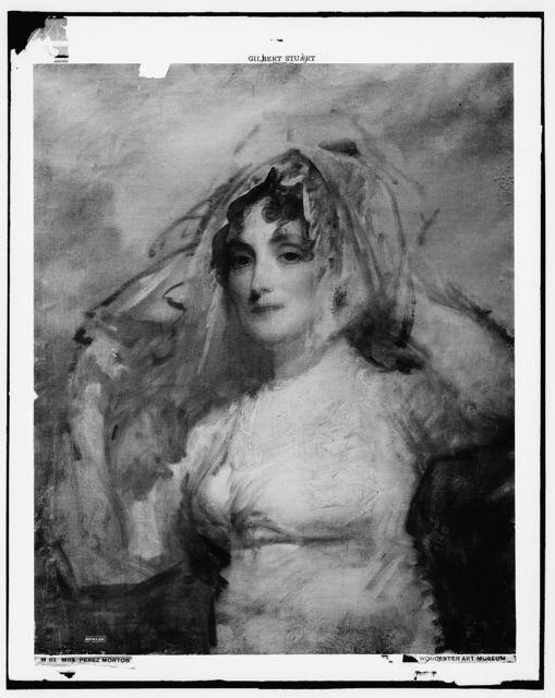 [Mrs. Perez Morton, head-and-shoulders portrait]
