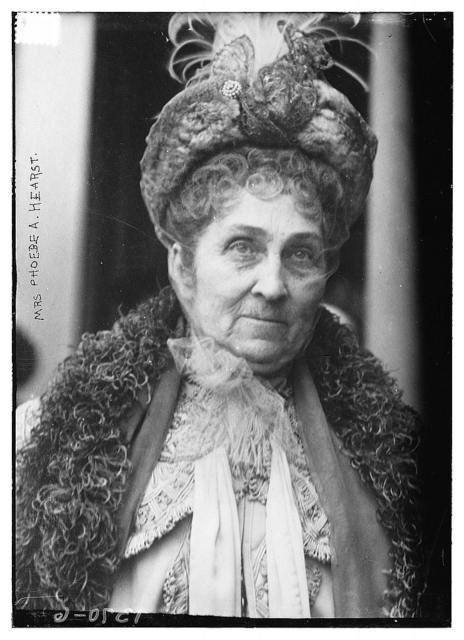 Mrs. Phoebe A. Hearst