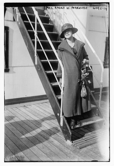 Mrs. Roger W. Parkhurst