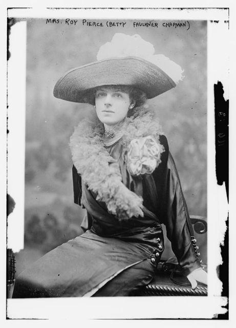 Mrs. Roy Pierce (Betty Faulkner Chapman)