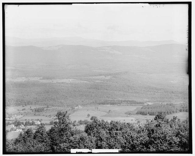 [Mt. Agassiz, N.H., Bethlehem, Littleton, and Daltonrange]