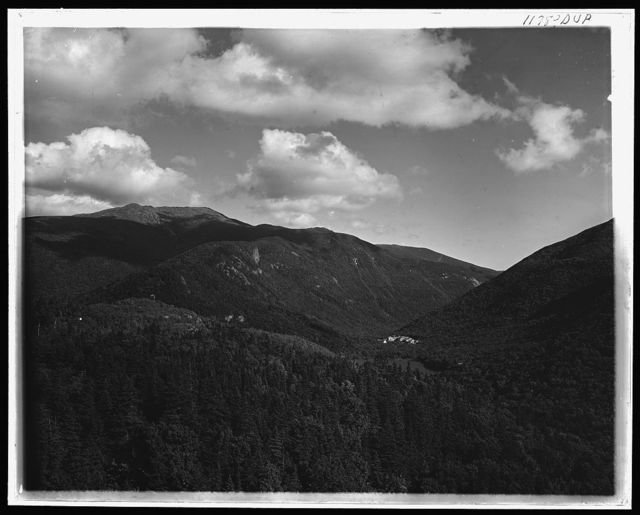 Mt. Lafayette and Franconia Notch from Bald Mtn., White Mountains
