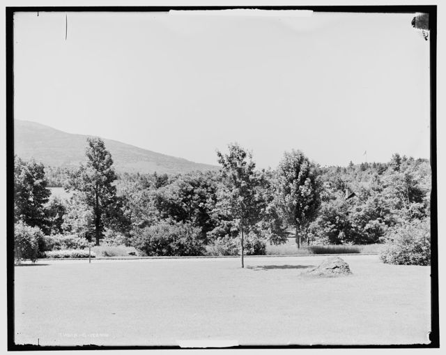 Mt. Monadnock and lake, N.H.