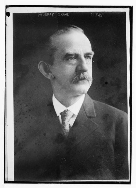 Murray Crane, portrait