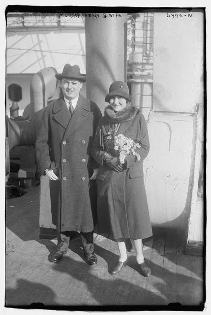 Murray Hearn & wife