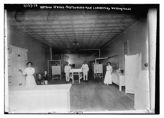 Nathan Strauss Pasteurised milk laboratory, Washington, DC