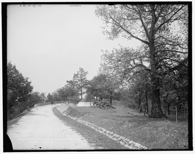 National Boulevard and Cannonball Monument, Missionary Ridge, Tenn.