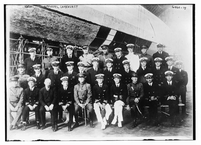 Naval officers, LAKEHURST