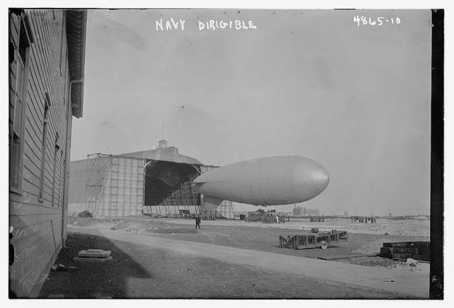 Navy dirigible