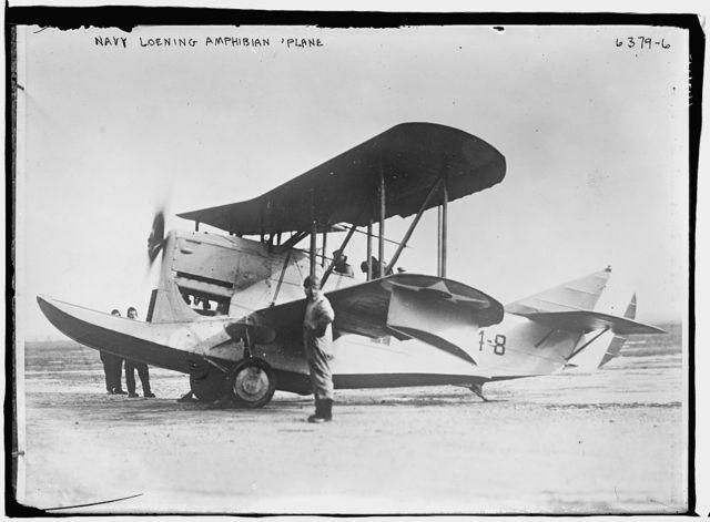 Navy Loening Amphibian plane
