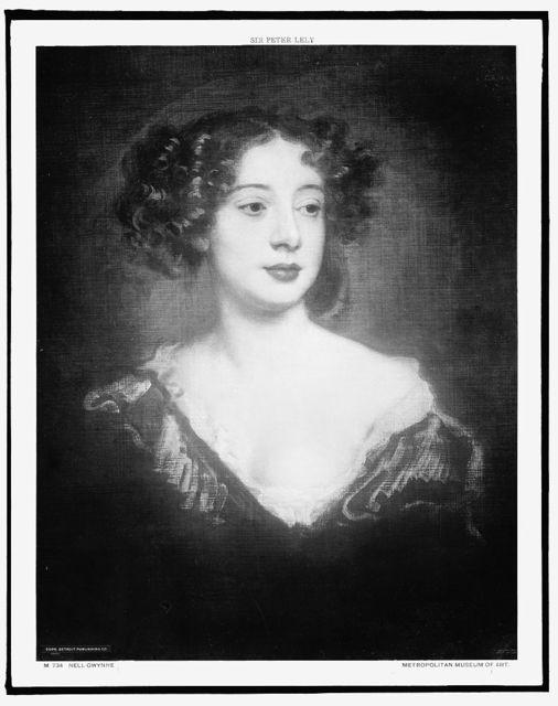 [Nell Gwyn, head-and-shoulders portrait]