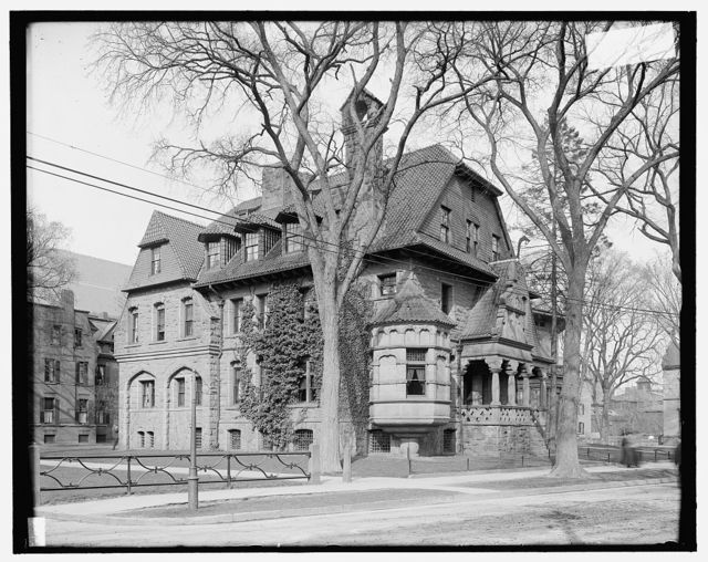 [New Haven, Conn., Colister Fraternity House, Yale]