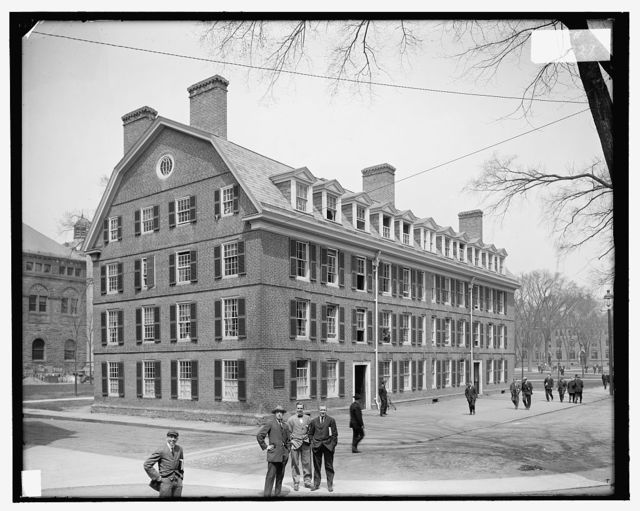 [New Haven, Conn., Conn. Hall, Yale U.]