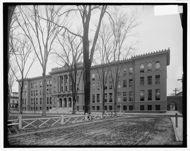 [New Haven, Conn., high school]