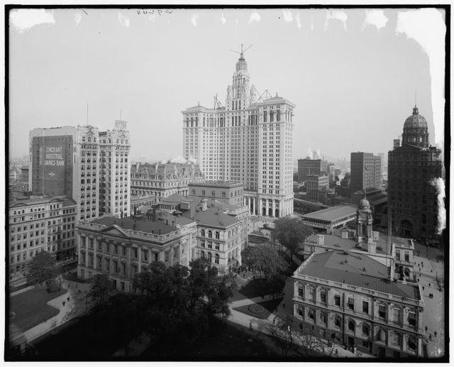 [New Municipal Building, New York, N.Y.]