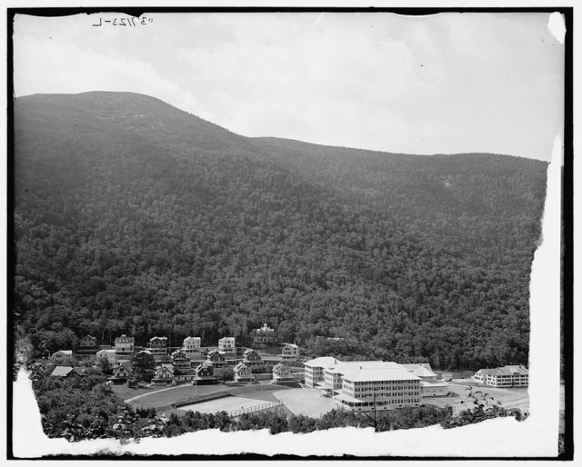 [New Profile House & cottages, Franconia Notch, White Mtns., N.Y.]